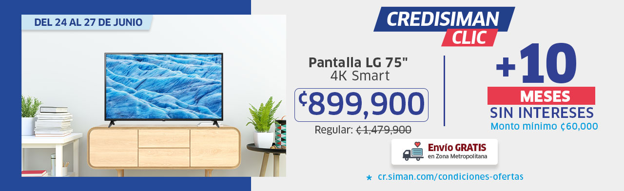 Pantalla LG 75