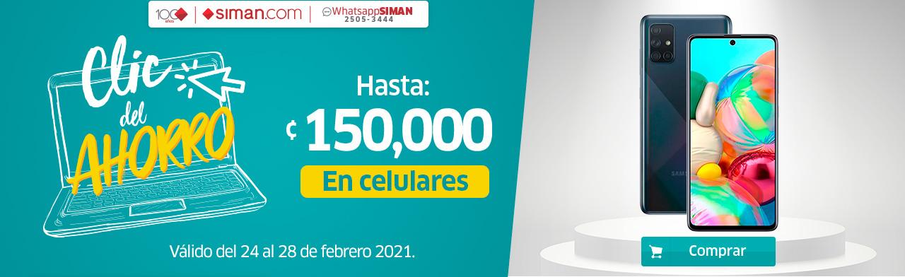 Hasta 150,000 colones de descuento en celulares