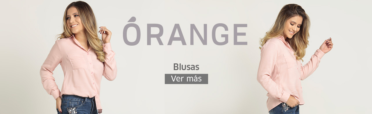 Blusas para damas Orange